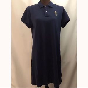 POLO RALPH LAUREN Bear Mini Shirt Dress